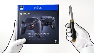New Playstation 4 Pro Controller Unboxing - Nacon Revolution Unlimited PS4 (Black Ops 4 Infected)
