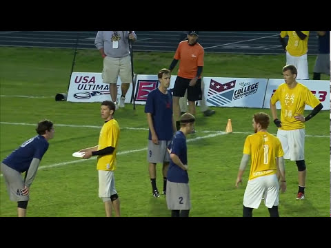 Video Thumbnail: 2013 College Championships, Men's Semifinal: Central Florida vs. Carleton