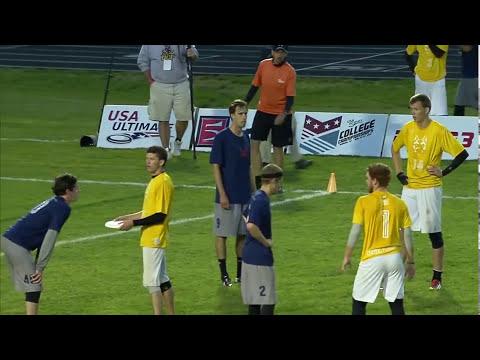 Video Thumbnail: 2013 College Championships, Men's Semifinal: Central Florida vs. Carleton