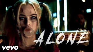 Harley Quinn & The Joker | Alan Walker - Alone  [Official Video]