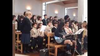 """2012 - """"Onde Deus te levar (A vida não vai parar)"""" - Coro Juvenil de São Pedro do Mar, Quarteira."""