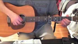 The Offspring - Gone Away - Acoustic Cover (Guitar & Vocals)