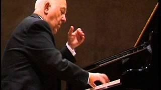 """Ivan Moravec live in Castelgrande 1997: Beethoven - Sonata Op. 27/2 """"Moonlight"""" - 2nd mvt."""