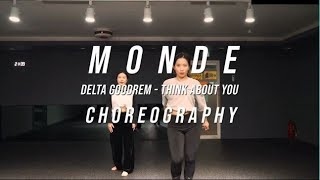 THINK ABOUT YOU (delta goodrem) choreography by monde [HEYDAY DANCE ACADEMY] 부산댄스학원