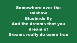 Jason Castro - Somewhere over the rainbow with lyrics