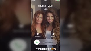 Shania Twain - Light Of My Life - Promo #3 on Paula Fernandes Instagram Stories