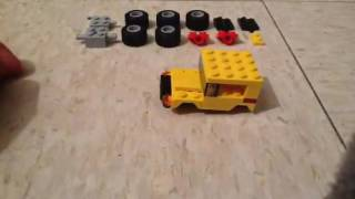 LEGO Jeep Simple MOC Tutorial from LEGO Creator set No. 31033