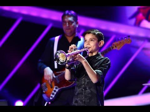 Vasilică Tinei a cântat senzaţional la trompetă! Next Star