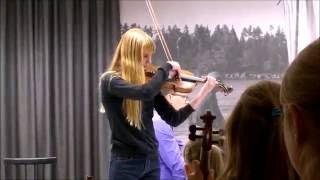Melissa and Violin, String Matinee 2016