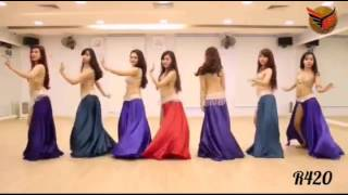 Yalla Habibi most popular arabic song By Fureza with hot belly dance width=