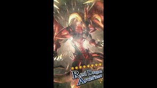 Yugioh Duel Links - Red Dragon Archfiend Summon Animation!