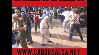 El bailador de salsa mas veterano del mundo