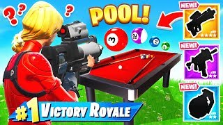 PLAYING *POOL* w/ PROXIMITY GRENADE For LOOT (Fortnite)