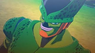 Dragon Ball Z Kakarot   Imperfect Cell Absorbs Android 17 Cutscene! (HD)