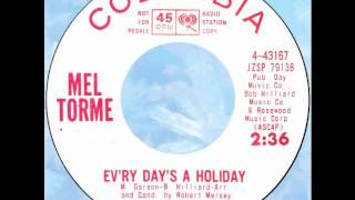 "Mel Torme – ""Ev'ry Day's A Holiday"" (Columbia) 1964"