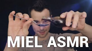 MIEL & ASMR 🐝 🍯  (honey tasting, tapping)