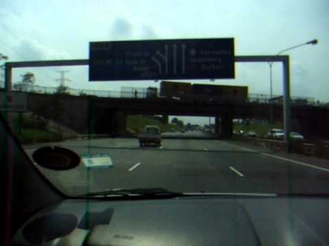 We Are Going To See The King – Driving To OR Tambo Airport – Leaving South Africa – February 2011