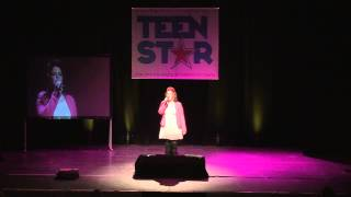 WE DON'T HAVE TO TAKE OUR CLOTHES OFF - JERMAINE STEWART Performed by Shannon Borawski at TeenStar S