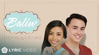 Maymay & Edward - Baliw Acoustic Version (Official Lyric Video)