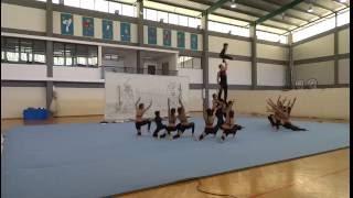 Porto Santo - Gin. Grupo Acrobática - Torneio do Fedelho - FDE'16