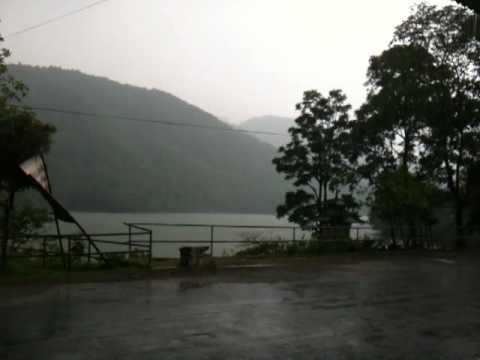 Rainstorm in Pokhara, Nepal May 2012