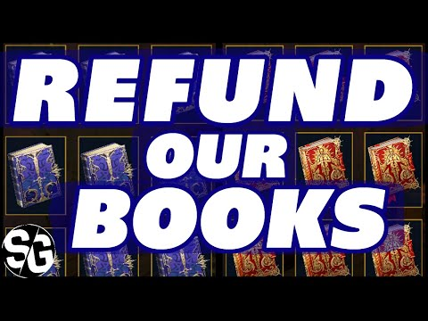REFUND OUR BOOKS! THIS IS A MUST RAID SHADOW LEGENDS TOME REFUND