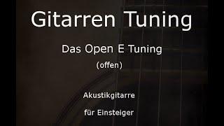 Open E Tuning (Gitarre) -  Tunings der Gitarre (E,B,E,G#,B,E)