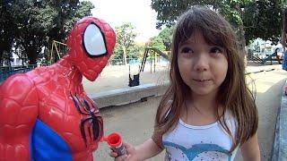 #2 M&M Chocolate Baby Alive Spiderman Homem Aranha Super Homem Superman  Toys Juguetes Kids