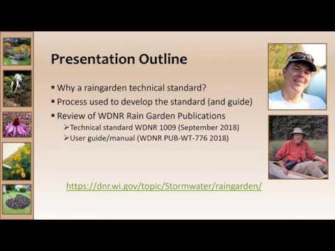 Rain Garden Standard Webinar