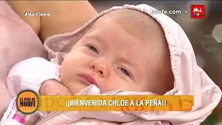 Jesica Cirio presentó a su hija  Chloe - La Peña de Morfi