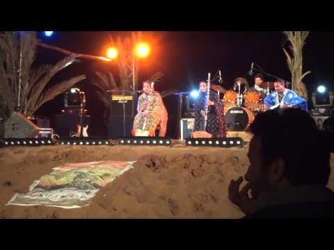 Noura Mint Seymali from Mauritania in Taragalte Festival 2012 – part 2, Mhamid Sahara Desert Morocco