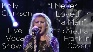 """Kelly Clarkson - """"I Never Loved a Man"""" [Aretha Franklin Cover] Live Vocal Showcase"""