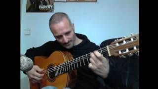 Metallica - Nothing else Matters cover guitarra española