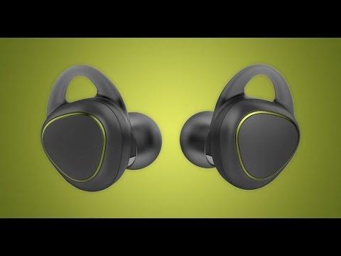 فتح علبة وإستعراض سماعات Samsung Gear Icon X