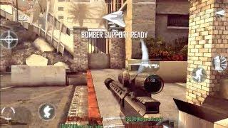 1 Minute Sniper Bomber! - Modern Combat 4