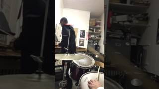 Drumset and marimba freestyle with my boy!