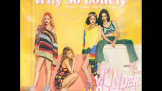Wonder Girls (원더걸스) - Why So Lonely [MP3 Audio]