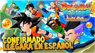 ¡Confirmado en occidente y en ESPAÑOL! | Dragon Ball Fusions - N3DS - ¡Fusión!