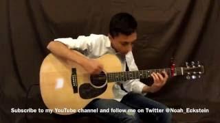 Bamboleo by The Gipsy Kings, fingerstyle guitar by Noah