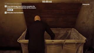 "HITMAN player contract ""Going For A Swim"" (1:11min)"