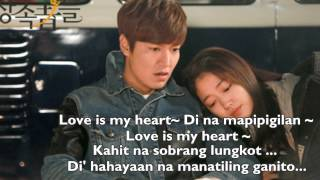 (Tagalog Version The Heirs OST) Love Is... -- Park Jang Hyun, Park Hyun Kyu