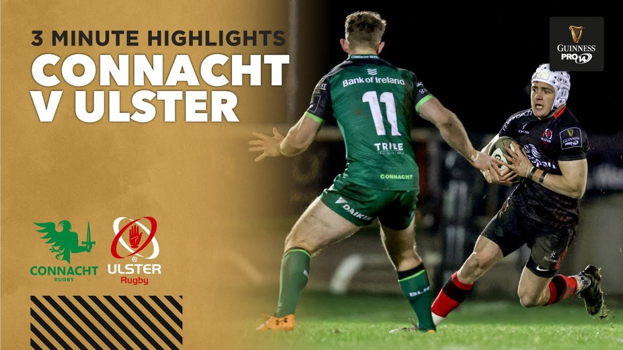 Connacht v Ulster – PRO14 Rugby Highlights