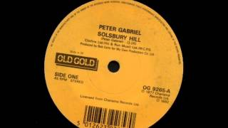 "Peter Gabriel - Solsbury Hill - Old Gold 7"" single record"