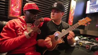 Ralo and Bandit Gang Marco raps Secret Lover Live with EinerBankz
