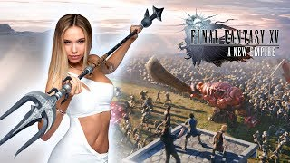 Final Fantasy XV: A New Empire - Alexis Ren in Battleground