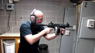 Mini M16 at Bullseye Shooting Range