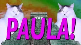 ¡FELIZ CUMPLEAÑOS PAULA! Canción Comica de Cumpleaños