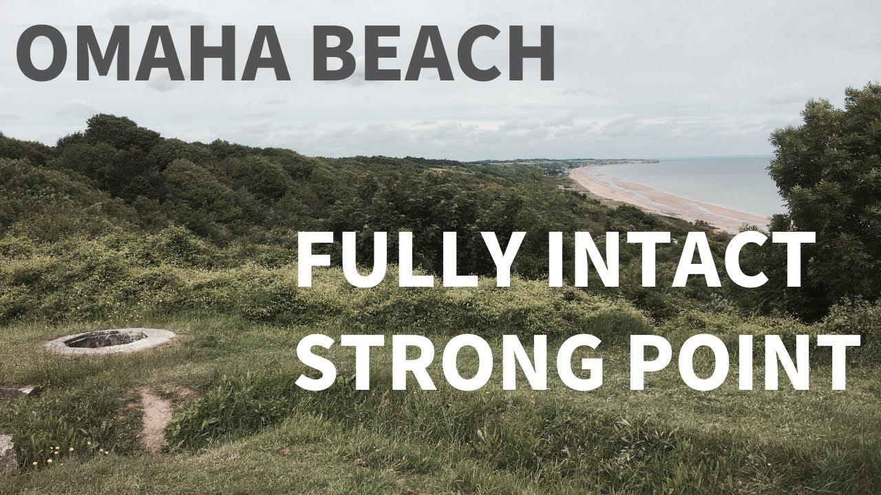 Stunning! Fully Intact German Strongpoint at Omaha Beach