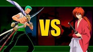 Batalha Tóxica // Zoro Vs Kenshin - Yutta e DanRap
