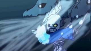 Undertale :W.D Gaster vs Sans- ECHO- Animation BY Zayn Inverse ( v0idless)